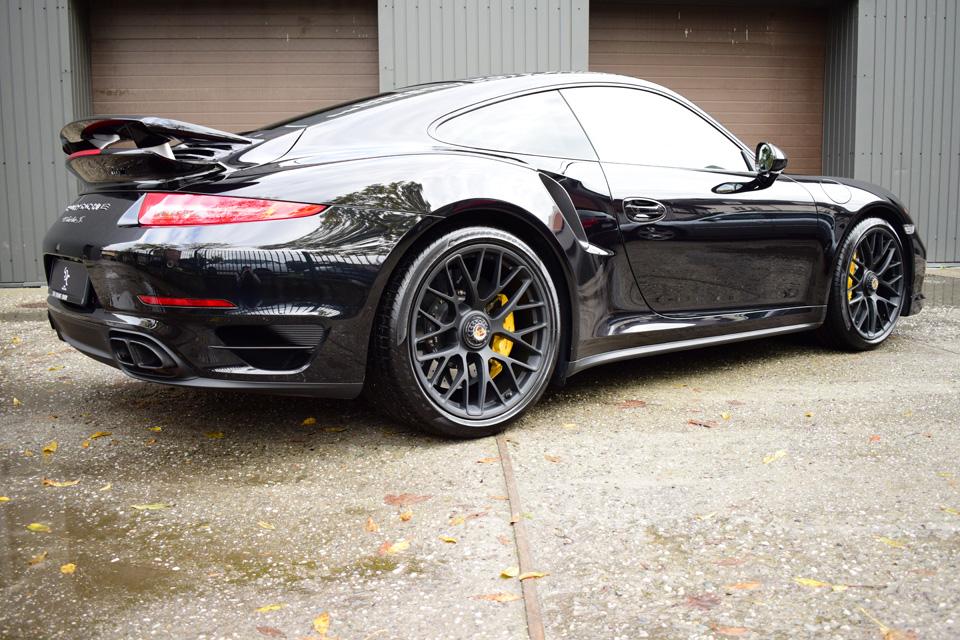 Porsche 911 Turbo S Korekta lakieru + wosk