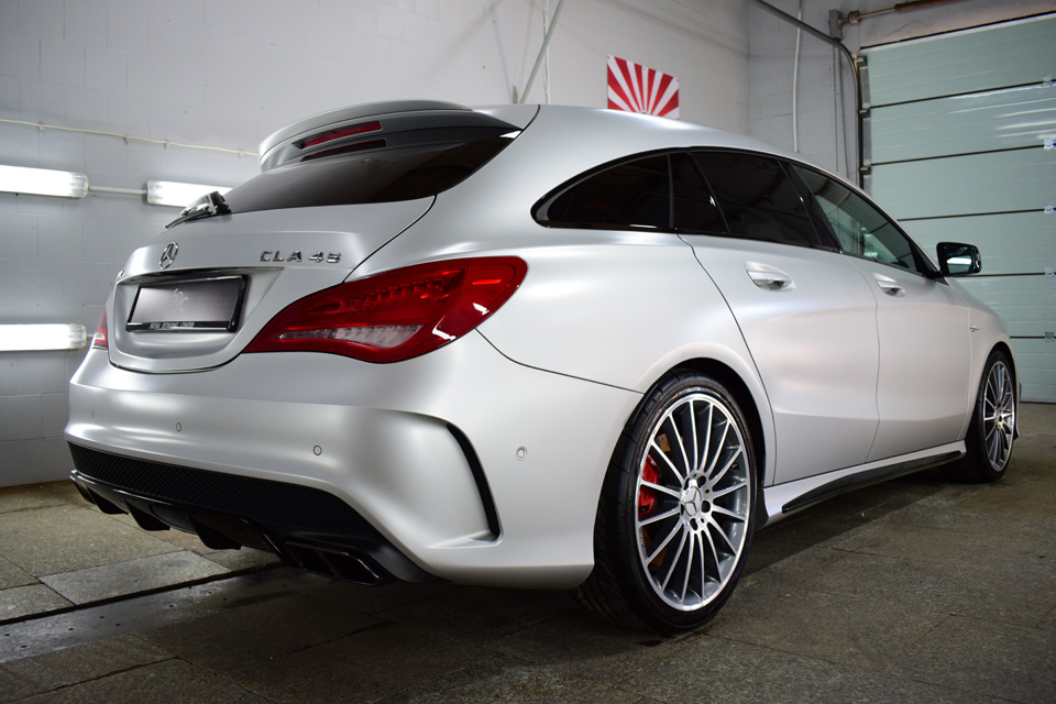 Mercedes CLA 45 AMG Zabezpieczenie ceramiczne