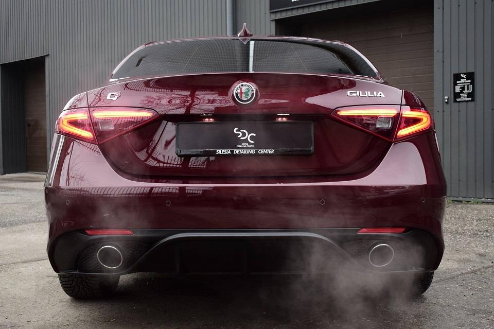 Alfa Romeo Giulia Zabezpieczenie ceramiczne