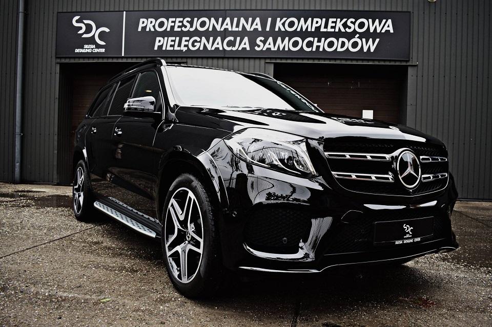 Mercedes GLS Zabezpieczenie ceramiczne