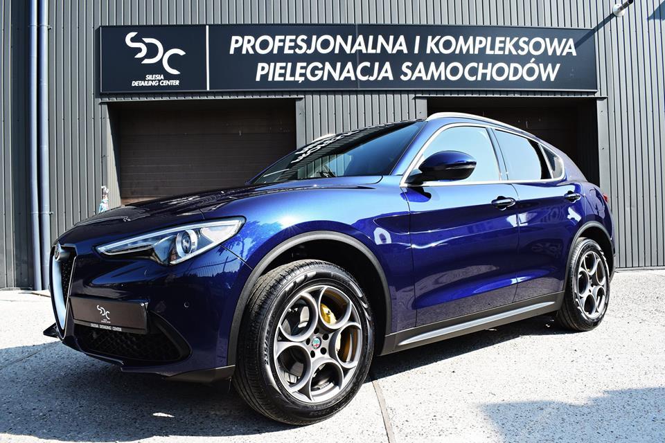 Alfa Romeo Stelvio Zabezpieczenie ceramiczne