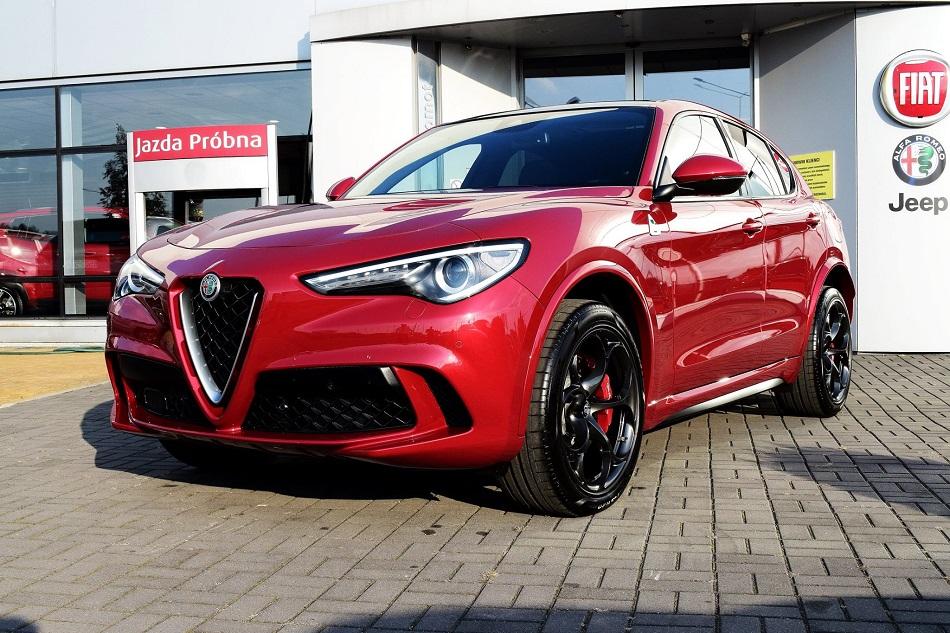 Alfa Romeo Stelvio Quadrifoglio Zabezpieczenie ceramiczne