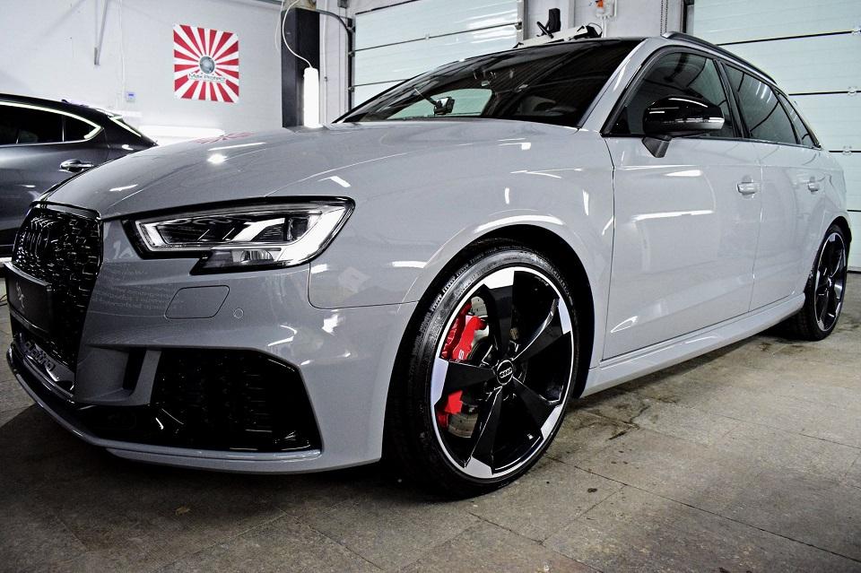 Audi RS3 Ochrona foliami PPF
