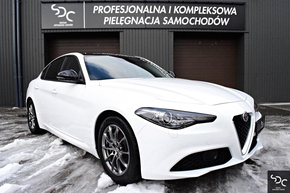 Alfa Romeo Giulia Zabezpieczenie ceramiczne i PPF