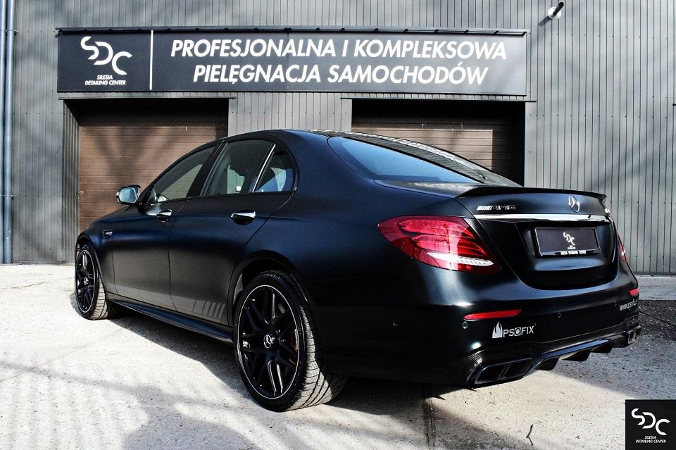 Mercedes E63S AMG Zabezpieczenie ceramiczne i PPF