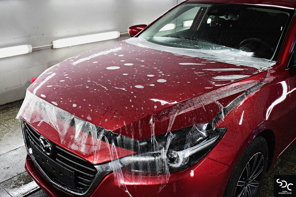 Mazda 3 Ochrona foliami PPF