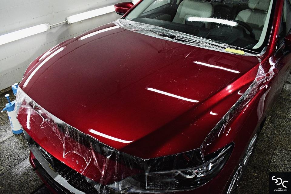 Mazda 6 Ochrona foliami PPF
