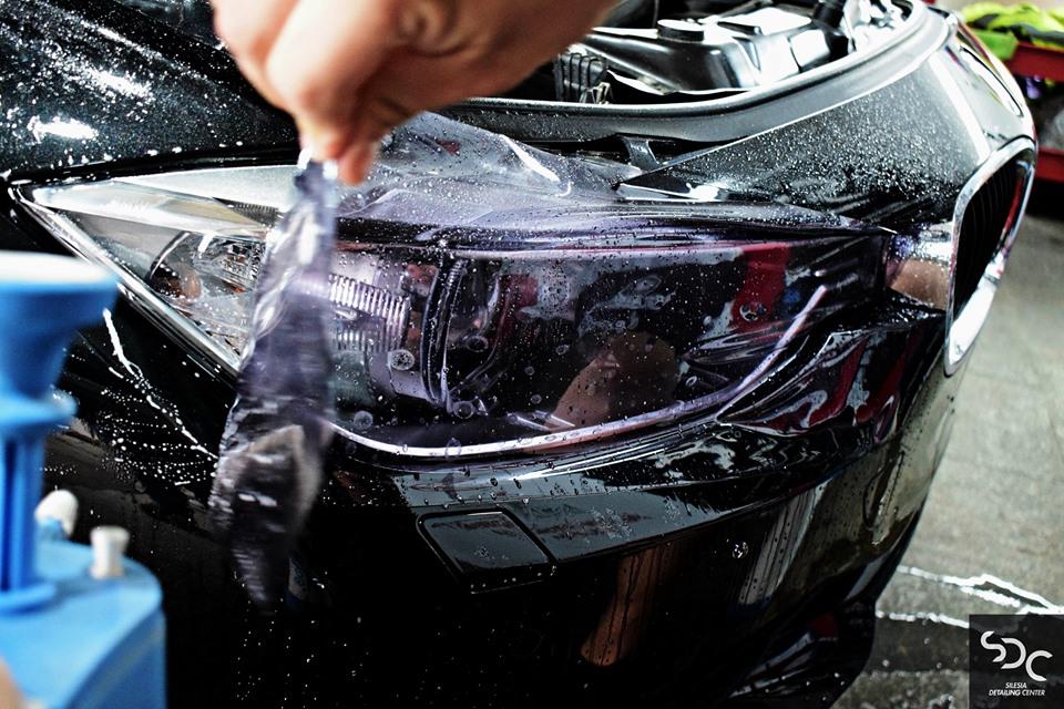BMW 3 Przyciemniający PPF