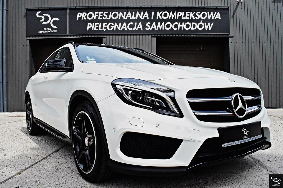 Mercedes GLA Zabezpieczenie ceramiczne